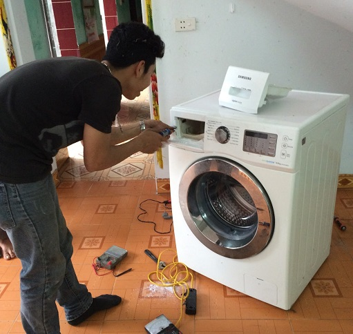 Thợ sửa máy giặt Hoàng Xuân