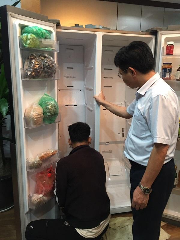 Thợ Sửa Tủ Lạnh Quang Toản