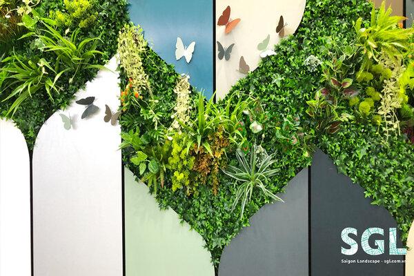 thi công tường cây xanh tại Hà Nội