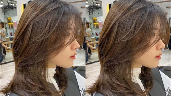 tóc uốn đuôi