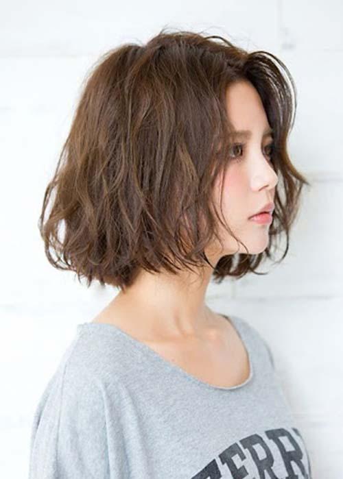 tóc xoăn đuôi ngắn