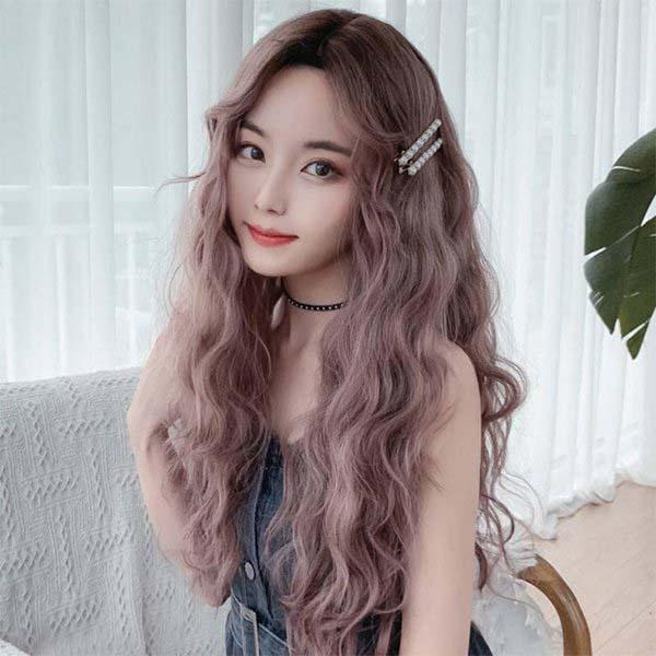 tóc xoăn sóng nước dài