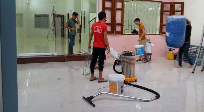 Dịch vụ tổng vệ sinh nhà ở sau xây dựng