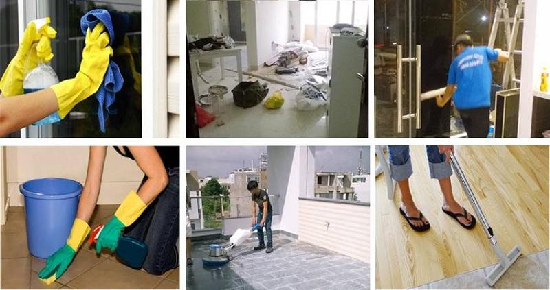 dịch vụ vệ sinh nhà cửa tại HCM